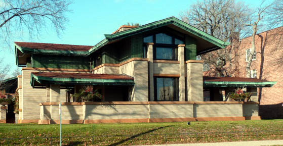 Dana Thomas House Architectural Consulting Engineers